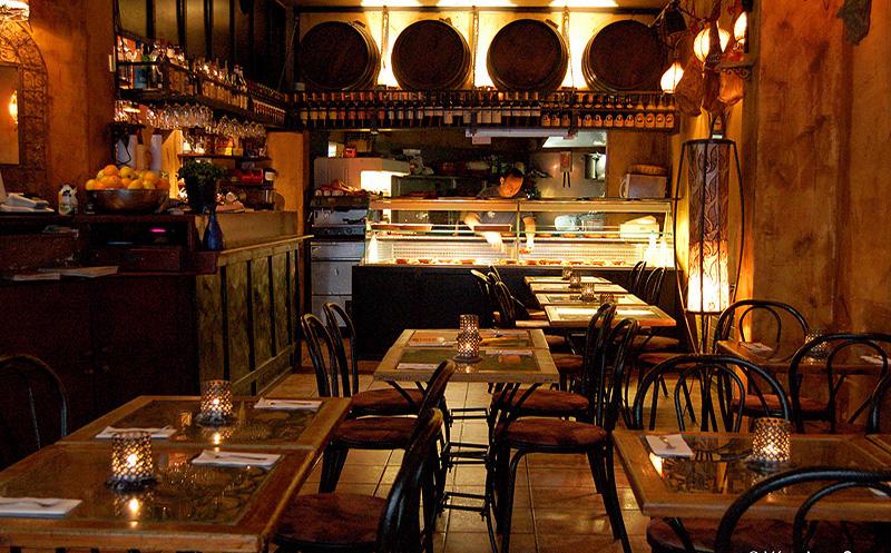 Bar a tapas restaurant espagnol à galerie
